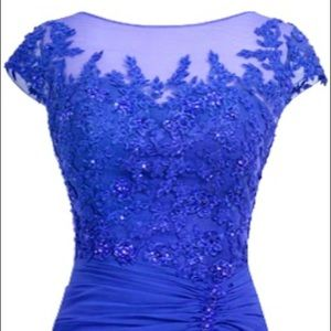 """Royal Blue """"Mother of Bride"""" Dress NWT"""
